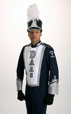 Detroit Marching Band Uniform